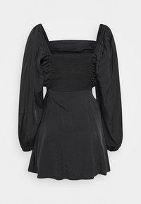 Missguided - RUCHED BUST ALINE DRESS - Kjole - black - 1