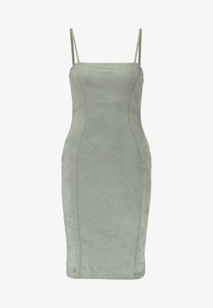 CAMI BODYCON MINI DRESS - Vestido de tubo - khaki