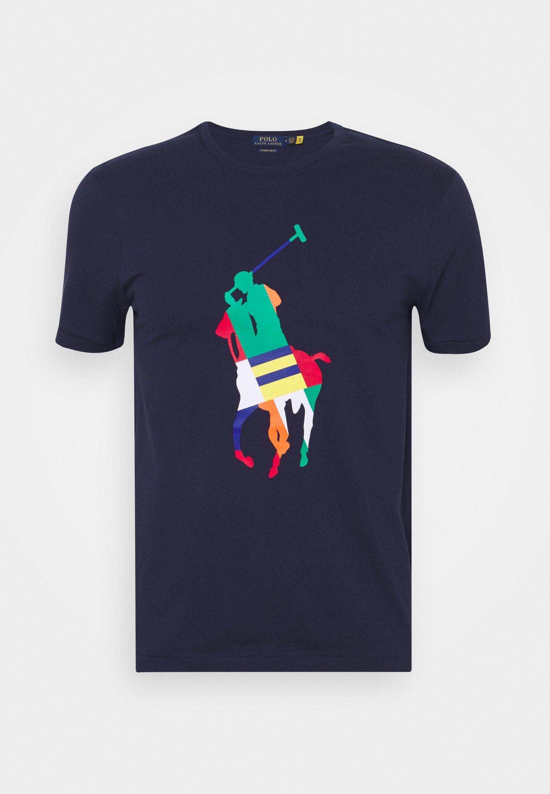 Herren CUSTOM SLIM FIT BIG PONY JERSEY T-SHIRT - T-Shirt print