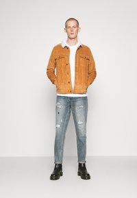 Gianni Lupo - Straight leg jeans - blue - 1
