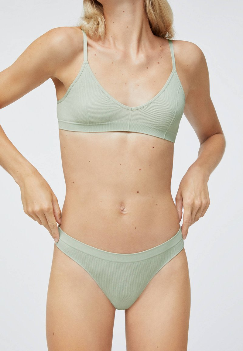 OYSHO - Triangle bra - green
