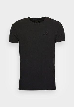 GYM TEE - Basic T-shirt - black