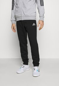 adidas Performance - Tuta - medium grey heather/black - 3