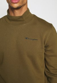 Champion - LEGACY MOCK TURTLE NECK LONG SLEEVES - Sweatshirt - olive - 5
