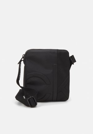 REPORTER UNISEX - Across body bag - black