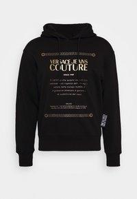 Versace Jeans Couture - FELPA - Felpa con cappuccio - black - 0