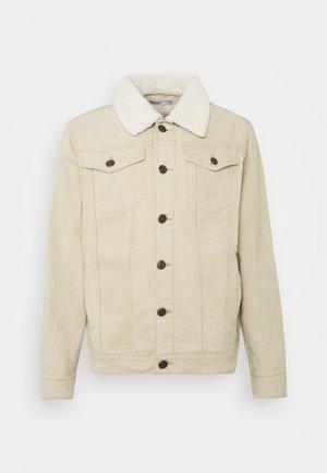 TRUCKER JACKET - Summer jacket - stone