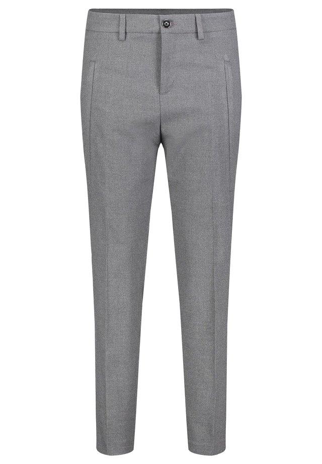 Trousers - stone grey melange