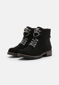 Jana - Lace-up ankle boots - black - 2