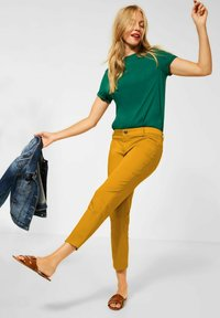 Street One - Straight leg jeans - gelb - 1