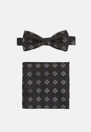 ONSTROY PATTERN BOW TIE SET - Bow tie - black