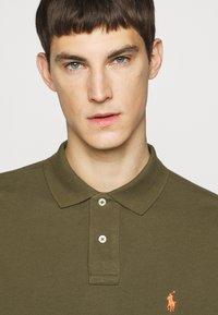 Polo Ralph Lauren - CUSTOM SLIM FIT MESH POLO - Polo shirt - defender green - 3