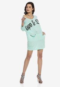 Cipo & Baxx - Jersey dress - mint - 1