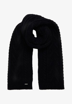 LANNAH CABLE  - Scarf - carbon navy