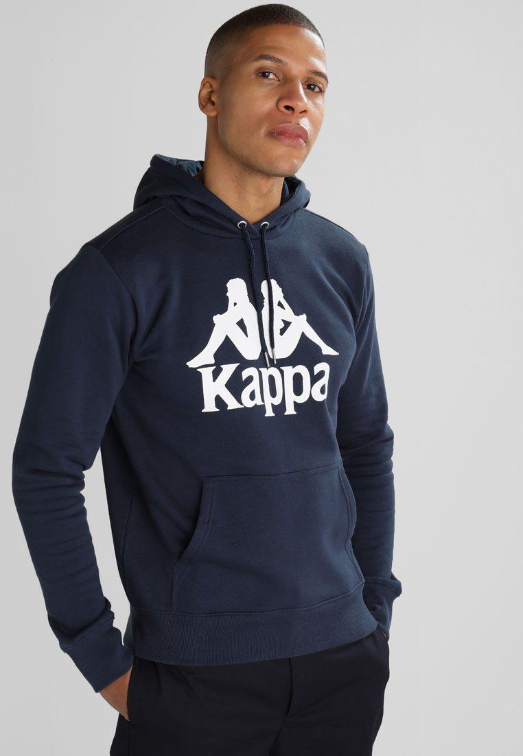 Kappa - TAINO - Sweat à capuche - navy