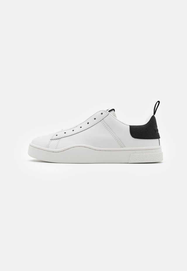 CLEVER S-CLEVER SO WSNEAKERS - Loaferit/pistokkaat - white/black