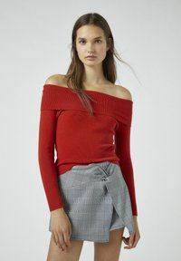PULL&BEAR - Pullover - red - 0