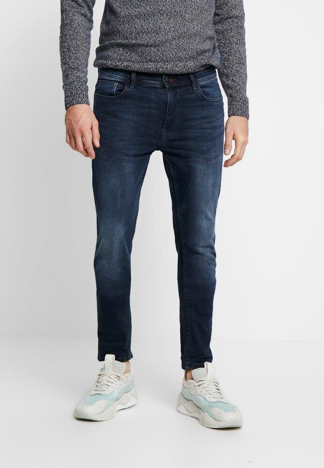 MULTIFLEX - Jeans Skinny Fit - denim black blue