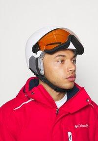 Alpina - ARBER VISOR UNISEX - Helmet - white matt - 1