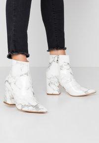 RAID - KOLAH - Ankle boots - white marble - 0