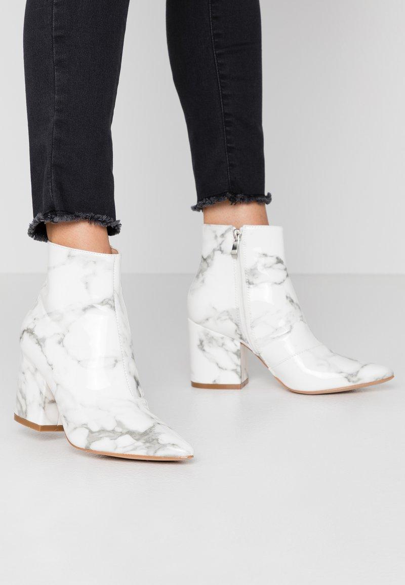RAID - KOLAH - Ankle boots - white marble