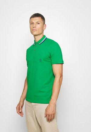 WITH TIPPINGS - Polo shirt - jolly green