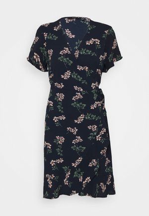 VMSAGA WRAP DRESS - Day dress - navy blazer