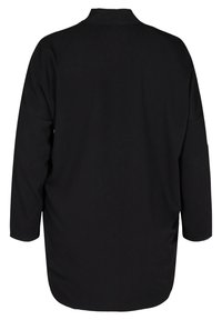 Zizzi - LONG-SLEEVED WITH A V-NECK - Tunic - black - 1