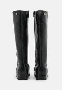 Musse & Cloud - GARBI - Vysoká obuv - black - 3