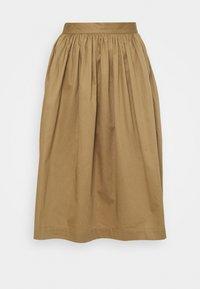 Selected Femme Petite - SLFWANDA MIDI SKIRT - A-line skirt - kelp - 0