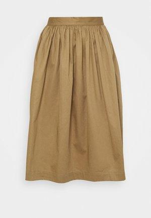 SLFWANDA MIDI SKIRT - A-line skirt - kelp