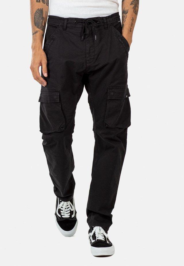 SHAPE - Cargo trousers - black