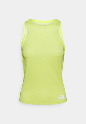 VYRTUE TANK - Sports shirt - sulphur spring green heather