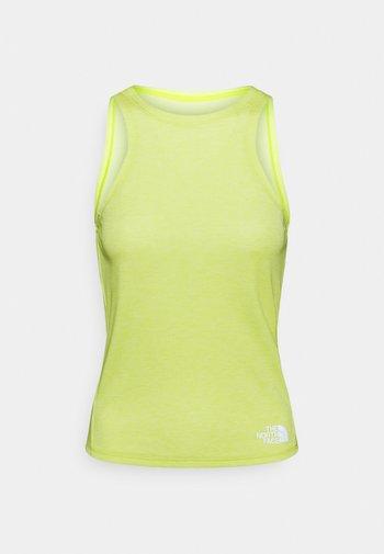 VYRTUE TANK - Sports shirt - sulphur spring green heather