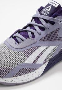 Reebok - NANO X - Trainings-/Fitnessschuh - violet haze/mystery orchid/white - 5