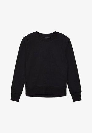 RUNDHALSAUSSCHNITT - Sweatshirt - black