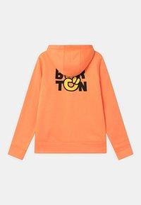 Burton - KIDS OAK FULL-ZIP HOODIE UNISEX - Bluza rozpinana - papaya heather - 1