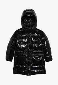Pinko Up - NEGOZIANTE GLOSSY - Winter coat - black - 2