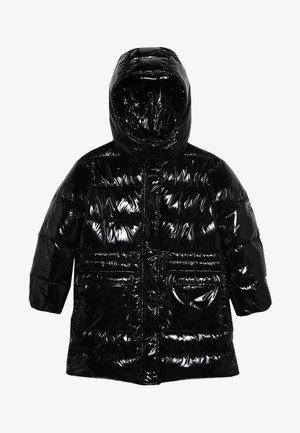 NEGOZIANTE GLOSSY - Winter coat - black