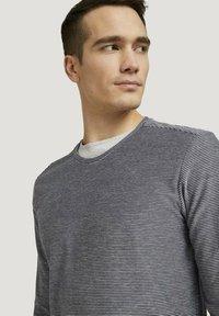 TOM TAILOR - Long sleeved top - dark blue - 3