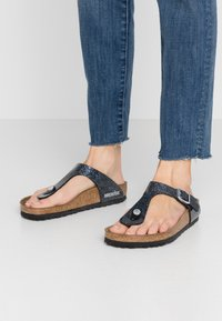 Birkenstock - GIZEH - T-bar sandals - cosmic sparkle anthracite - 0