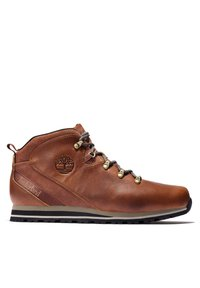 Timberland - SPLITROCK - Sportieve veterschoenen - md brown full grain - 4
