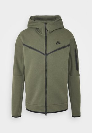 HOODIE  - Cardigan - twilight marsh/black
