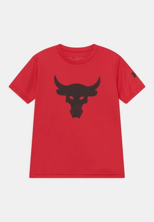 PROJECT ROCK - T-shirt con stampa - red