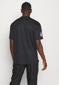 New Era - NFL OAKLAND RAIDERS WORDMARK - Klubové oblečení - black - 3