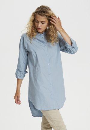 Button-down blouse - ashley blue