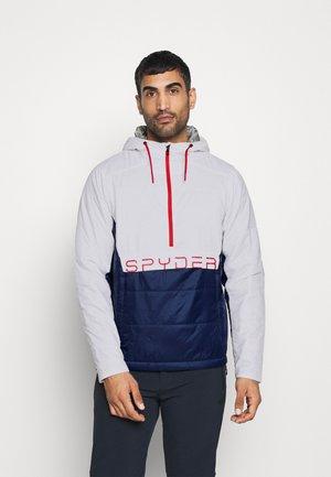 GLISSADE ANORAK - Ski jacket - white