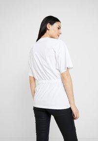 G-Star - DISEM LOOSE - T-shirt med print - white - 2