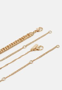 Topshop - HEART CHAIN MULTIROW 2 PACK - Necklace - gold-coloured - 1