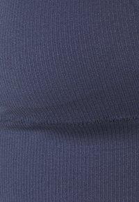 ELLE - SEAMFREE LONG LINE BRALETTE - Triangle bra - crown blue - 2